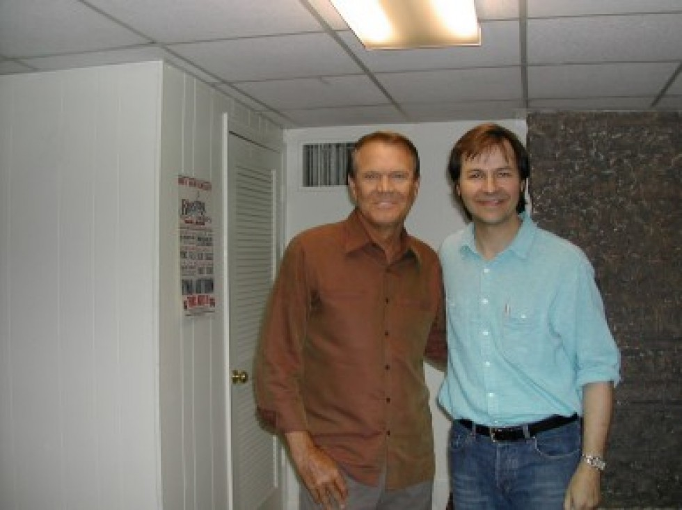 """Glen Campbell – This Week in AMERICANA full interview & exclusive live performance of """"Galveston"""" from 2003"""